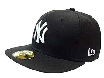 New York Yankees New Era MLB Basic 59FIFTY Caps Black White - 7