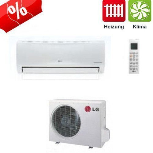 LG Econo split air conditioner DC inverter E12EL Set 3.5 kW up to 35 m?