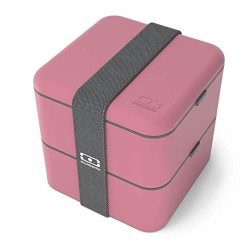 MB Square Blush - Die viereckige Bento Box
