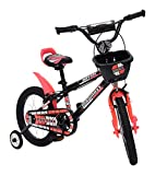 MAD MAXX Stainless-Steel Kids Road Cycle, 16 Inches (Multi-Colour, BMX16TRED)