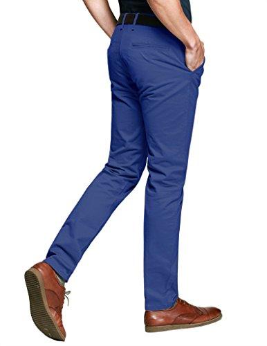 Match Pantalons Casual Slim Tapered pour Homme #8025 8025 Pale bleu(Light blue)