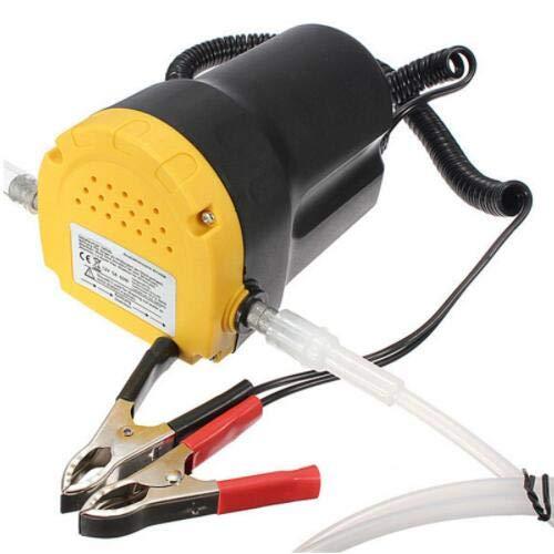 TuToy Motoröl-Pumpe 24V Elektrischer Diesel Fluid Sump Extractor Scavenge Exchange Transfer Saugrad - 24V - Server-pumpe