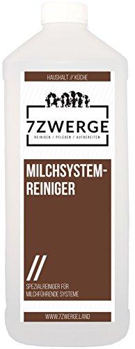 7Zwerge Milchsystemreiniger 1000ml 1 Liter Milchschaumreiniger Milch Reiniger thumbnail