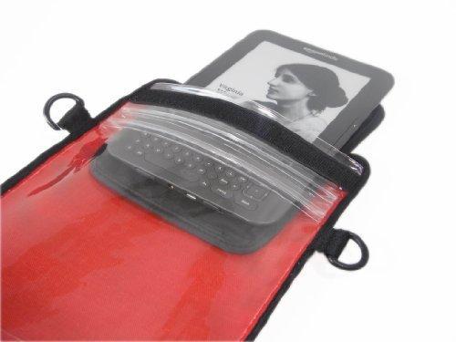 Aqua Quest epouch eReader Sleeve–100% wasserdicht, Herren, rot, 26 x 18 cm