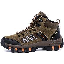GJRRX Zapatillas de Senderismo Trekking para Hombre Botas de Senderismo Impermeables de Ocio al Aire Libre