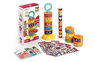 Miniland- BBQ Emotions Juego para niños sobre emociones. (45407)