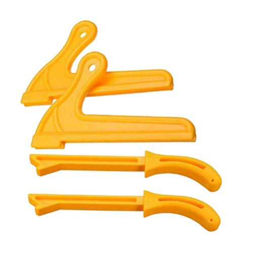 DOITOOL 4 stücke sicherheit tischkreissäge push stick
