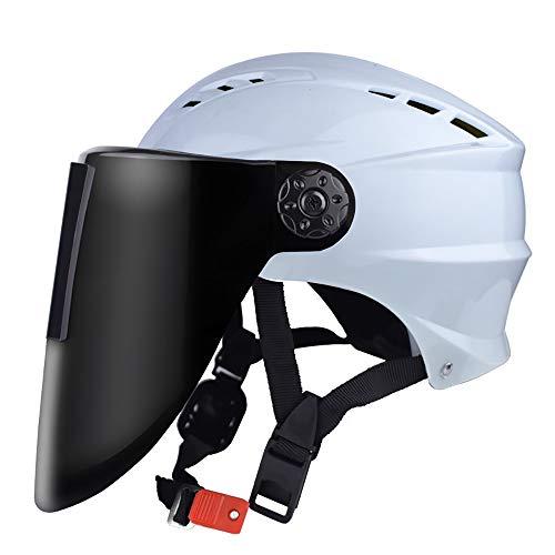 BLWX - Máscara de soldador - Gafas de soldar automáticas con regulador de intensidad para la cabeza - Antiasado - Arco de argón - Casco de soldadura de seguridad