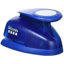 Artemio–5cm gigante Palanca perforadora de papel, azul