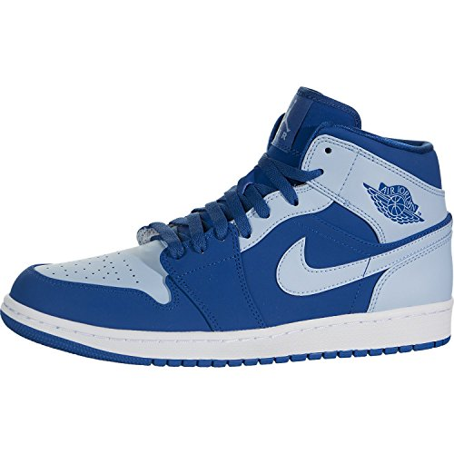 H12 - Nike AIR JORDAN 1 MID 554724-400 Size EUR 43 -