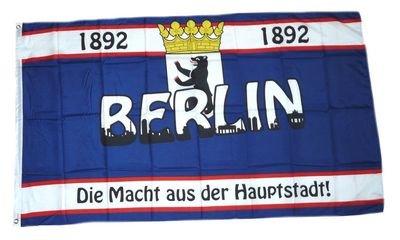 Fahne / Flagge Berlin 1892 Hauptstadt NEU 90 x 150 cm - Hauptstadt Flagge