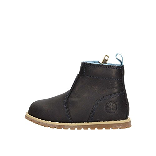Timberland Kleinkinder Boots Pokey Pine Chukka with Zip Black Iris 30