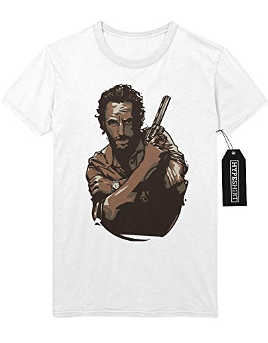"T-Shirt The Walking Dead ""RICK GRIMES"" C500013 Weiß"