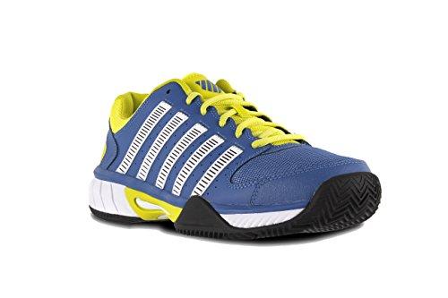 K-Swiss Express Mesh HB, Chaussures homme Bleu/jaune