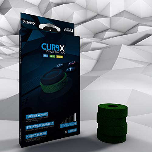 CURBX motion control 230 – Zielhilfe und Stoßdämpfer für Thumbstick / Analogstick für FPS & 3rd Person Shooter – Stärke 230 für Playstation 4 und Microsoft Xbox One / 360