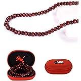Affaires: Prayer Beads Japa Mala (108) Karma Beads Hindu Tibetan Buddhist Mala L Bead Healing 8mm Mala-012