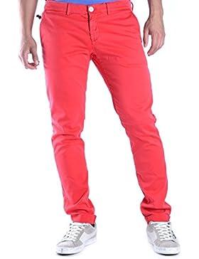 Maison Clochar Hombre MCBI425001O Rojo Algodon Jeans