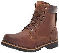 Godetevi questo modello Timberland Rugged 6 in Plain Toe WP Copper Roughcut WP C74134, Stivali.