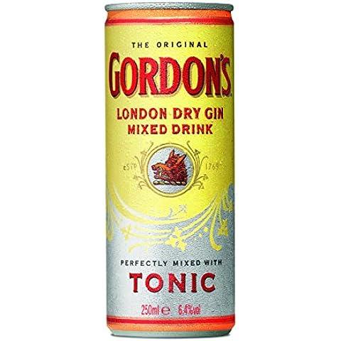 Gordon's Pre-Mezclado Y Listo Para Beber - 250 ml