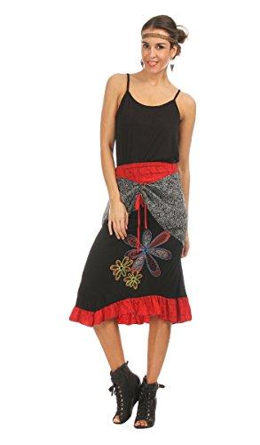 NO NAME - Skirt SERENA - Woman - L - Black