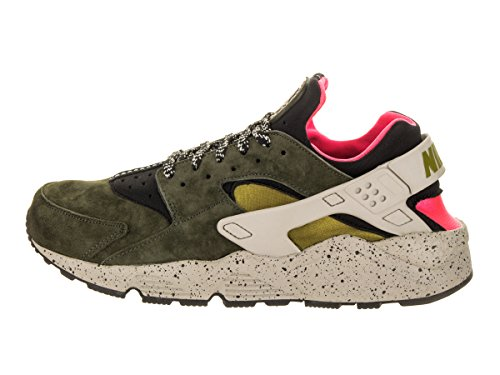 Nike Scarpe Air Huarache Run Premium - Desert Moss in Pelle e Tessuto Multicolor 704830-010 Multicolor Costo Barato kCMOJy