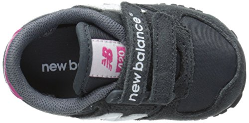 New Balance KE420, Baskets mode mixte enfant Gris (Gei Grey/Pink)