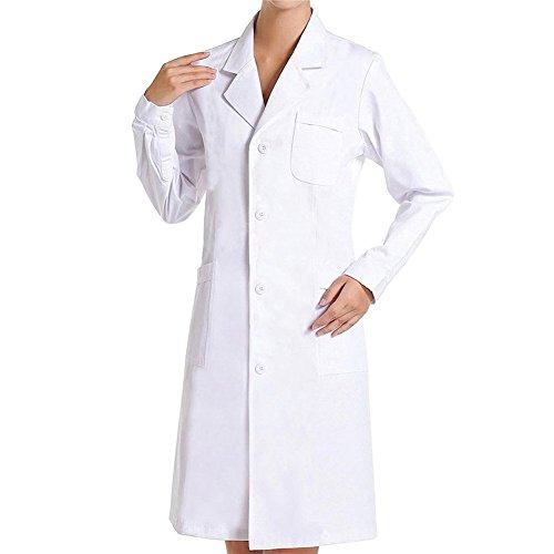 Bata Médico Laboratorio Enfermera Sanitaria Trabajo