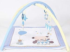 Duffi Baby- Gimnasio Infantil Bebé, 100% Poliéster, 70 x 70 cm, (Master Baby Home, S.L. 0688-33)