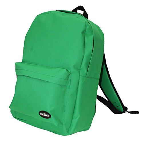Mochila Casual Escolares Colegio Chico Chica 808 Verde