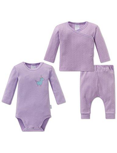Schiesser Unterwäsche-Set Einhorn Baby Mädchen, 3er Pack, Mehrfarbig (Sortiert 1 901), 62