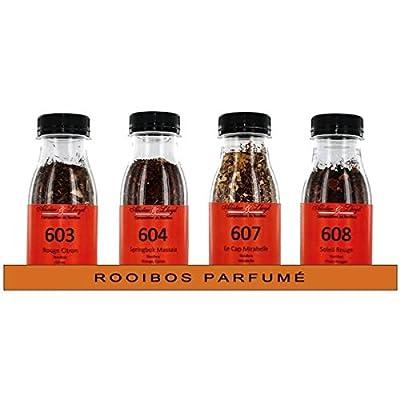 Sélection de 4 Rooibos Parfumés Alister & Lloyd - 215g