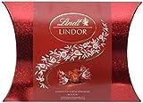 Lindt Lindor Glamour Kissenpackung Milch, Vollmilchschokolade, 26 Kugeln, 1er Pack (1 x 325 g)