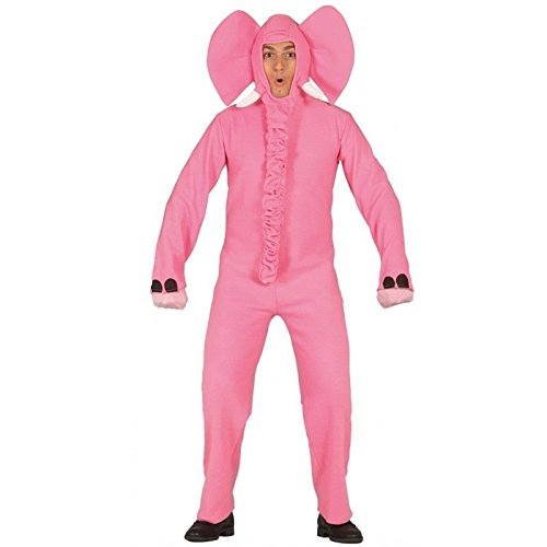 b79f773702 Guirca Costume vestito elefante animali carnevale uomo adulto 80875 T.U