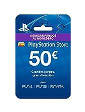 Sony- Tarjeta Prepago 50€ (PlayStation)