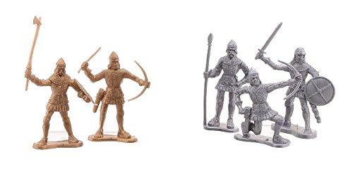 JOHNTOY Les 60 chevaliers figurine de jeu, multicolore