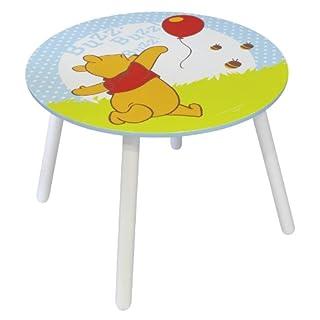 Jemini - 711730 - Ameublement Et Décoration - Table Ronde En Bois - Winnie The Pooh