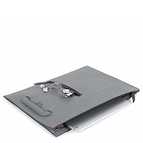 Piquadro Ac4099w86, Borsa a Mano Unisex-Adulto, 2 x 38 x 28 cm (W x H x L) Blu