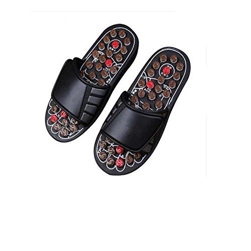 Qian Tai Chi zapatillas de masaje pie acupoints interior hogar Cool zapatillas , 38-39