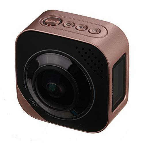 Panoramische fisheye Kamera 720 Grad Weitwinkel 4K Doppelobjektivauto-Videobewegung, die Digitale drahtlose Fernnetzkamera der im Freienkamera schießt Kamera-monitoring-software