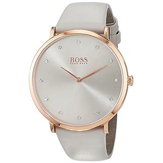 Hugo BOSS Reloj Análogo clásico para Mujer de Cuarzo con Correa en Cuero 1502412