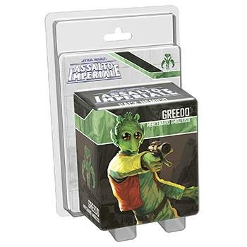 Asmodee Italia-GTAV0868 Star Wars Assalto Imperial expansión Greedo, Color, 9035