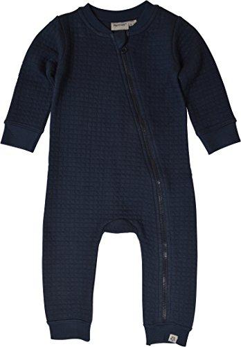 Papfar Unisex Baby Spieler Quilted Sweat, Blau (Blue Nights 287), 80 (Herstellergröße: 12M)