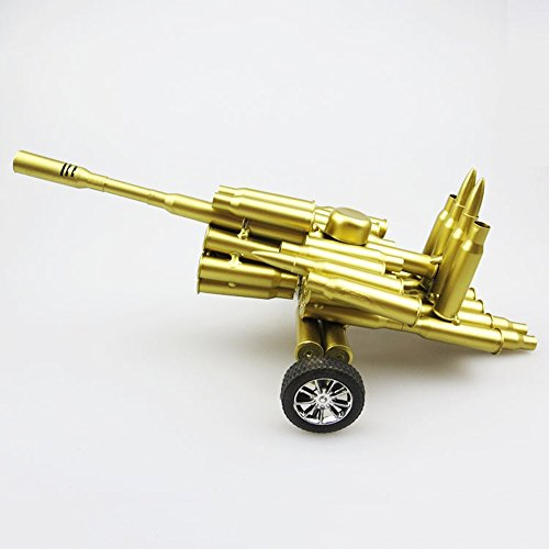 Handmade Gun Bullet Shell Militärische Kanone Modell Metall Artwork Home Living/Study Room Dekorationen Geschenk Kinder Modell Spielzeug -