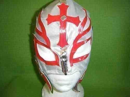 Silber Rey Mysterio Wrestling Maske Wrestler Ray Fancy Dress Up Kostüm Outfit Anzug für Kinder Kids Jungen Rolle spielen Cosplay Marke neue TNA ECW (Xmen Kostüme)