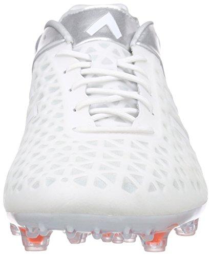 adidas Performance Ace15.1 Fg/Ag Herren Fußballschuhe Weiß (Ftwr White/Ftwr White/Silver Met.)
