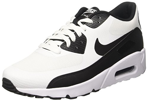 Nike Air Max 90 Ultra 2.0 Essential, Scarpe Running Uomo Multicolore (White/black-white)