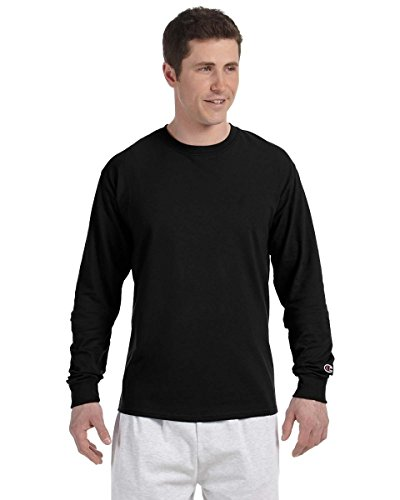 champion-52-oz-long-sleeve-t-shirt-black