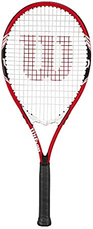 "Wilson Federer Tennis Racket, 4 3/8"" - Red/"