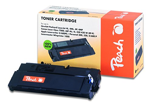 Preisvergleich Produktbild Peach Tonermodul schwarz kompatibel zu Canon, HP, Apple 92274A, PX