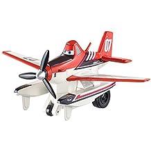 Mattel CDW04 - Aviones de Disney 2 - en uso constante - Pull & Fly Buddies - Dusty